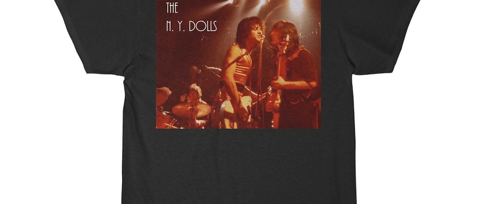 The New York Dolls at Trading Post Live 1974 Men's Short Sleeve T Shirt