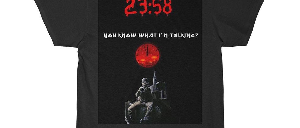 IRON MAIDEN 2 Minutes To Midnight Show Flyer Sleeve Tee