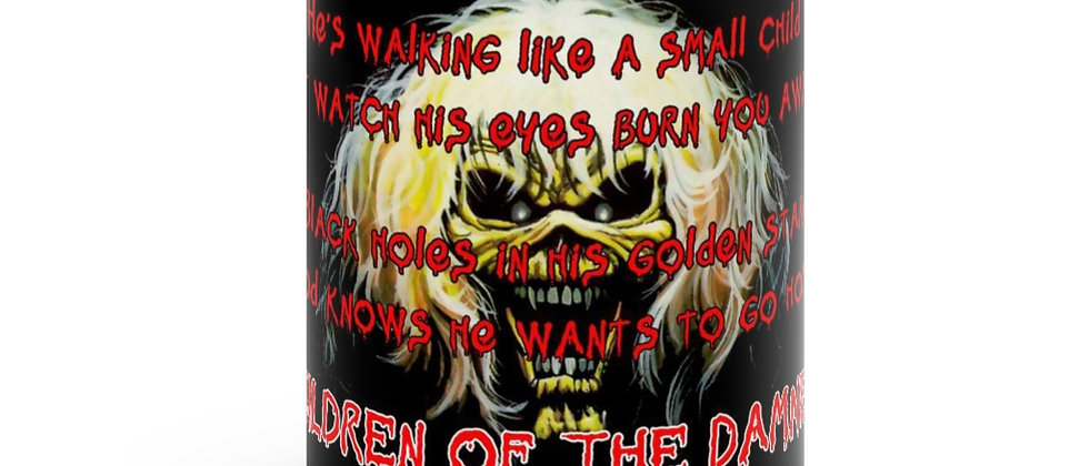 IRON MAIDEN Children of the Damned Black mug 11oz