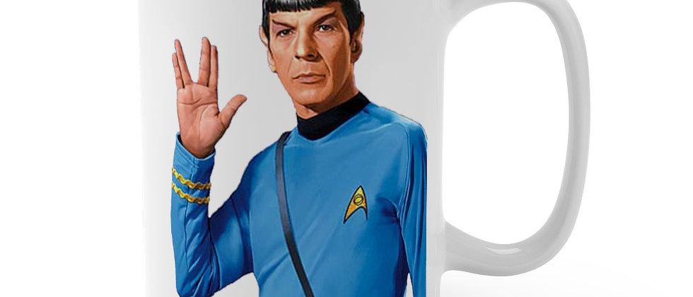 Star Trek tos Spock  Mug 15oz