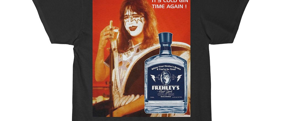 KISS Ace Frehley Cold Gin 2 Men's Short Sleeve Tee