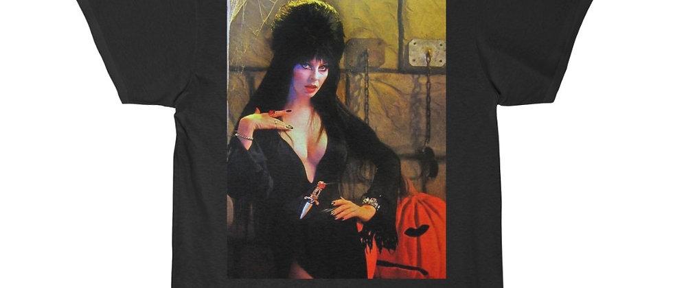 Elvira Mistress Of the Macab  Men's Short Sleeve T Shirt