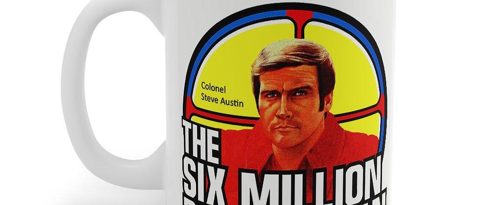 The Six Million Dollar Man Mug 11oz