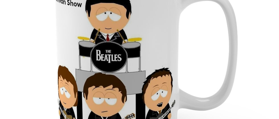South Park The Beatles Ed Sullivan Mug 15oz