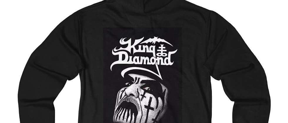 KING DIAMOND 2 Unisex French Terry Zip Hoodie