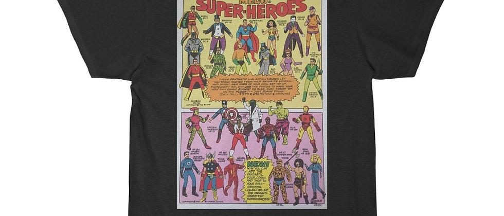 MEGO Superheroes ad 2 Men's Short Sleeve Tee