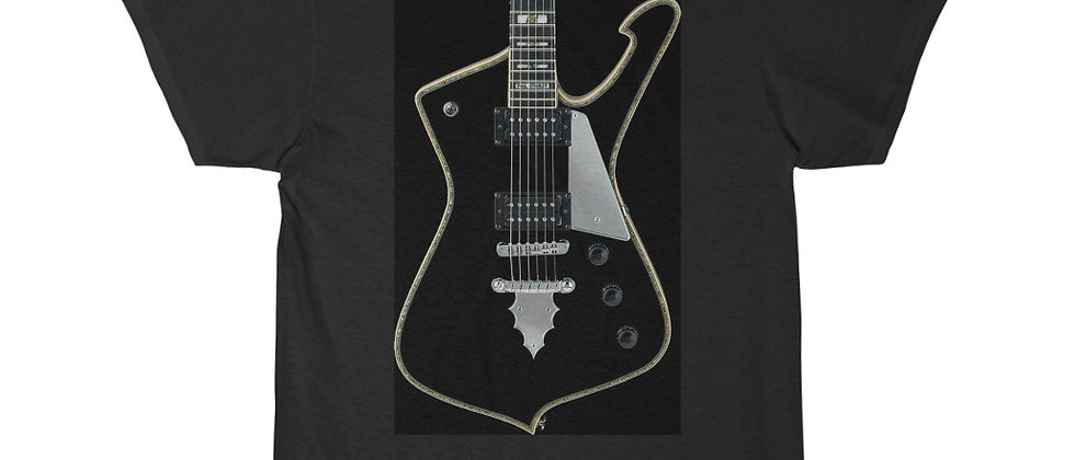 KISS Paul Stanley Ibanez PS-10 Iceman Guitar Short Sleeve Tee