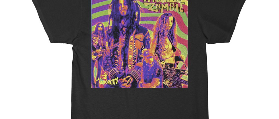 White Zombie LaSexorsisto cover Special 2 sided Short Sleeve Tee