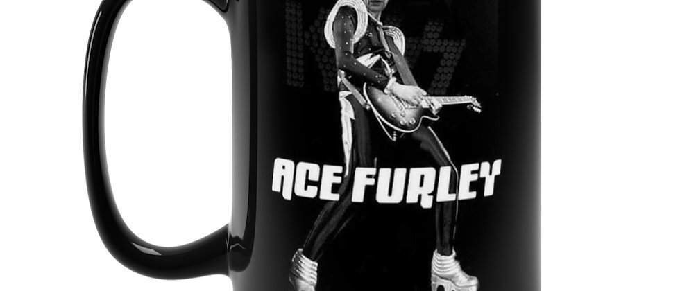Ace Furley Kiss Three's Company mash up  Black Mug 15oz