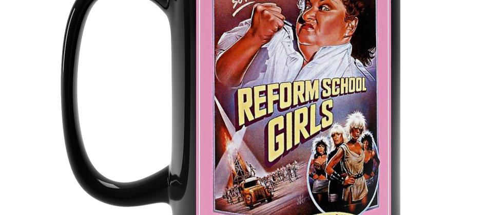Reform School Girls Wendy O Williams Black Mug 15oz