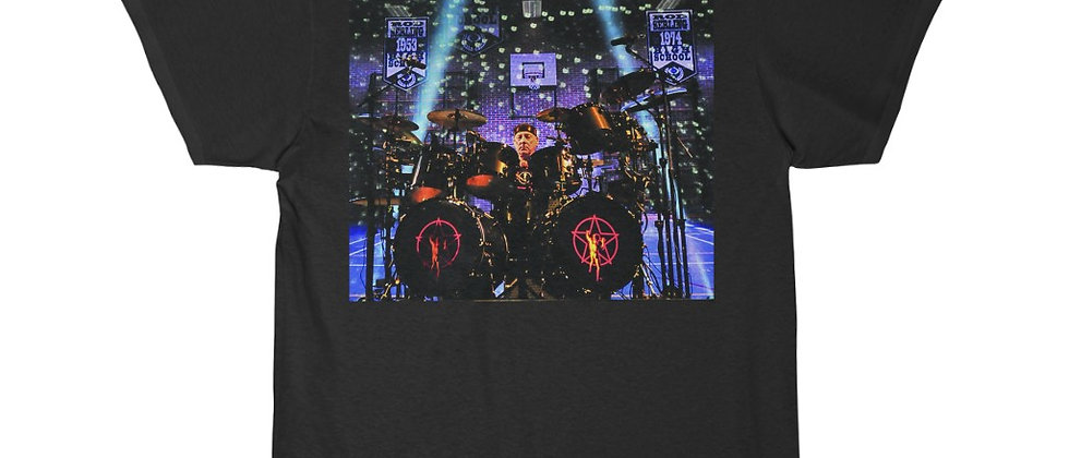 Neil Peart of RUSH Drums 1 Short Sleeve Tee