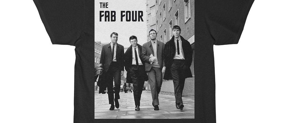The Fab Four Star Trek Beatles mas up  Men's Short Sleeve Tee