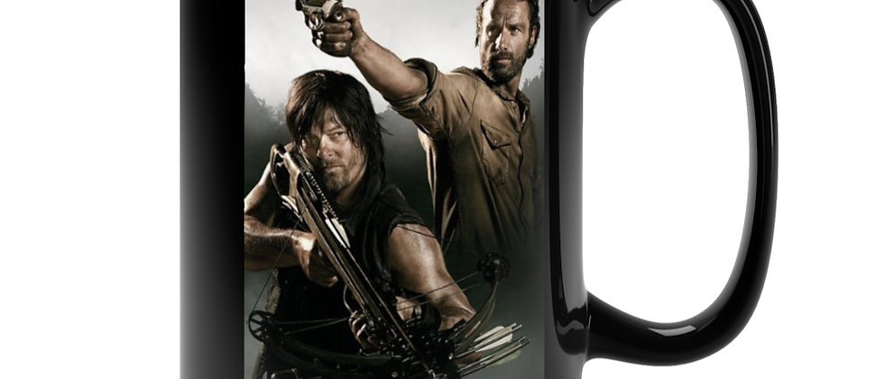 The Walking Dead Rick and Daryl Mug 15oz