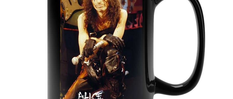 ALICE COOPER On Stage 1979 Black Mug 15oz