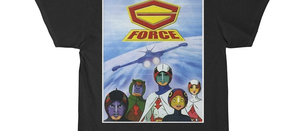 G Force Gatchaman Battle of the Planets Short Sleeve Tee