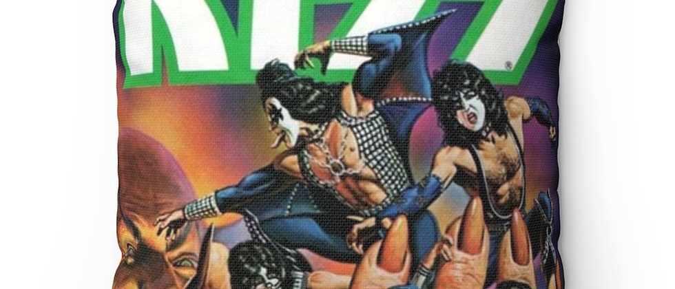 KISS, PAUL STANLEY, PILLOW, GENE SIMMONS, ACE FREHLEY, PETER CRISS,COMIC BOOK, END OF THE ROAD
