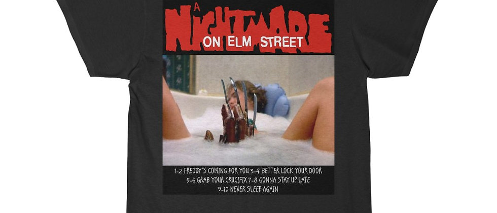 A Nightmare On Elm Street Never Sleep Again Short Sleeve Tee