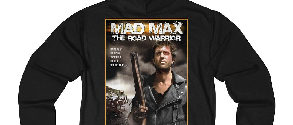 Mad Max The Road Warrior Unisex French Terry Zip Hoodie