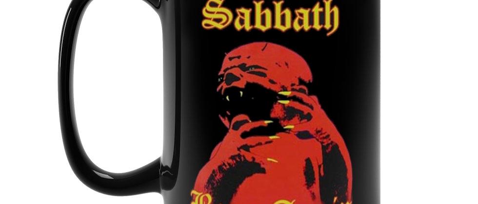 Black Sabbath Born Again  Black Mug 15oz