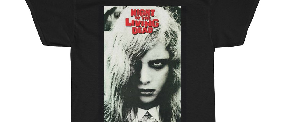 Night Of The living Dead Poster Unisex Heavy Cotton Tee