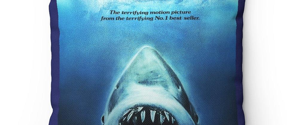 JAWS Spun Polyester Square Pillow