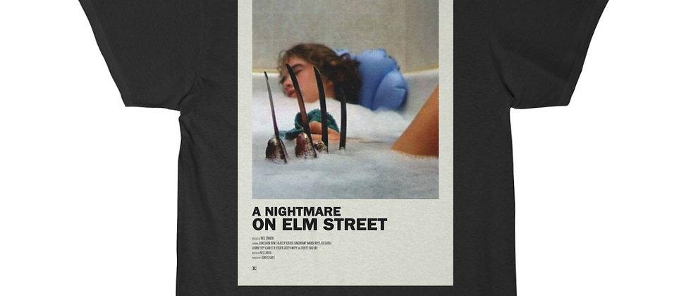 A Nightmare On Elm Street Tub Poster Short Sleeve Tee