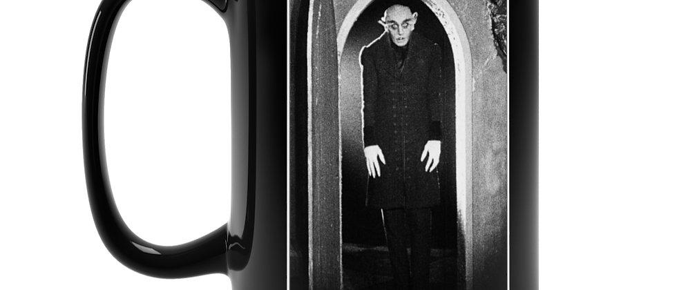 Nosferatu First vampire monster  Black Mug 15oz