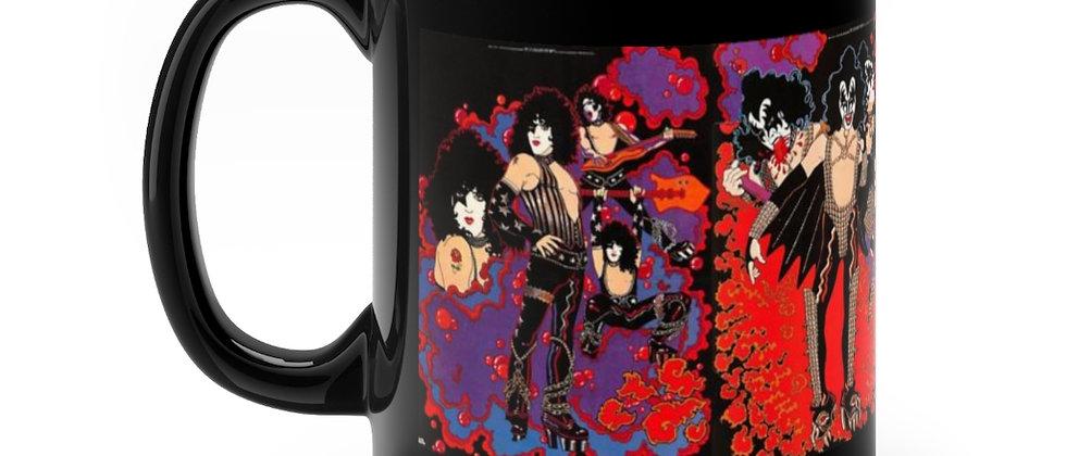 KISS Solo Posters Black mug 11oz
