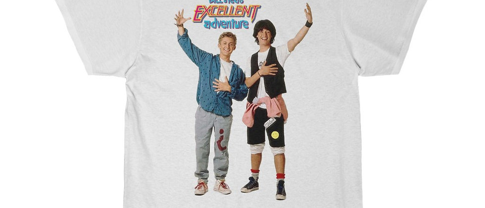 BILL And TED's Excellent Adventure Men's Short Sleeve Tee