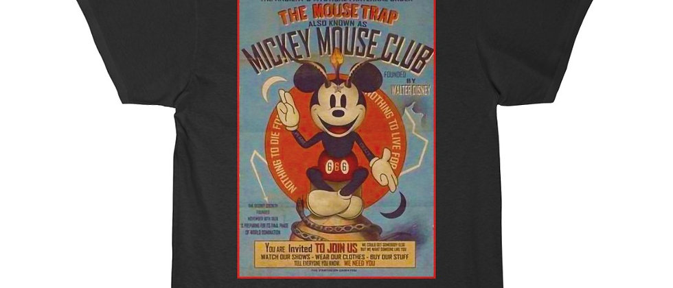 Mickey Satan Baphomet mouse club Short Sleeve Tee