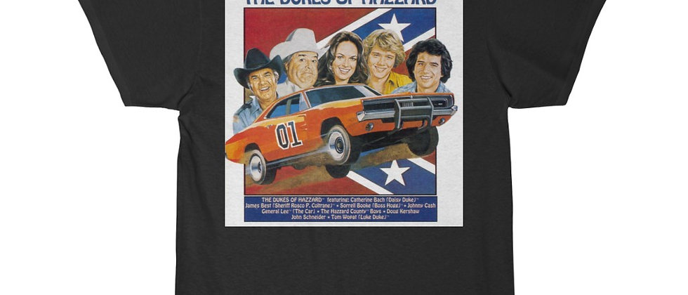 The Dukes of Hazzard Gen. Lee Short Sleeve Tee