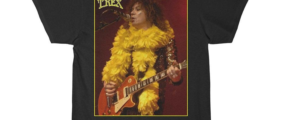 Marc Bolan T.Rex  yellow boa Men's Short Sleeve Tee