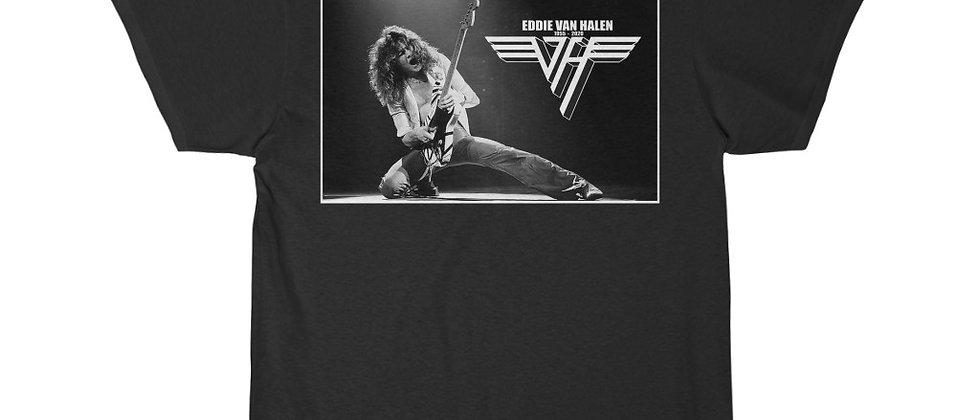 Eddie Van Halen VH 1955 - 2020 BW Men's Short Sleeve Tee