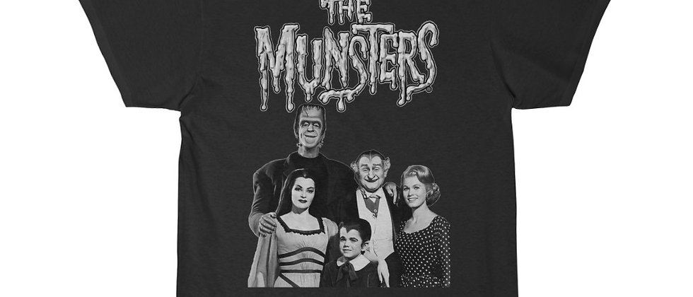 The Munsters black and white Short Sleeve Tee