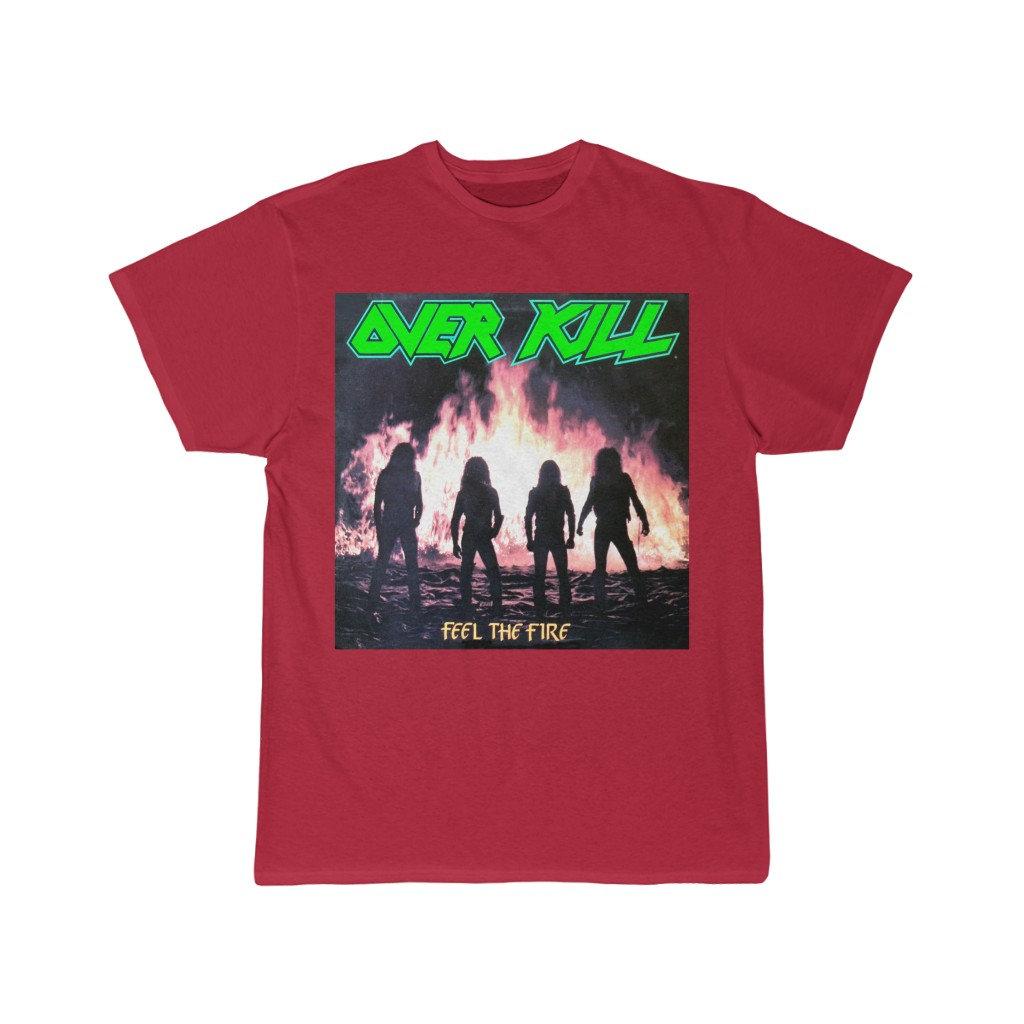 Faces T SHIRT S-M-L-XL-2XL Brand New OVERKILL Official T Shirt