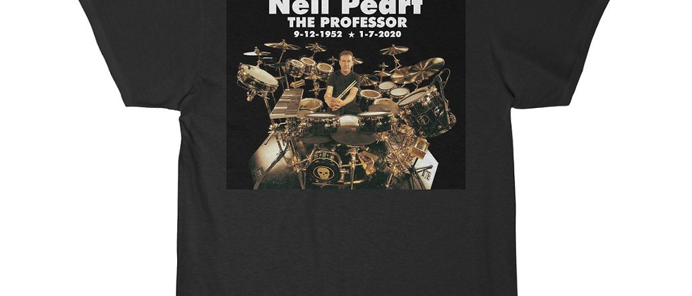 Neil Peart of RUSH The Professor Short Sleeve Tee