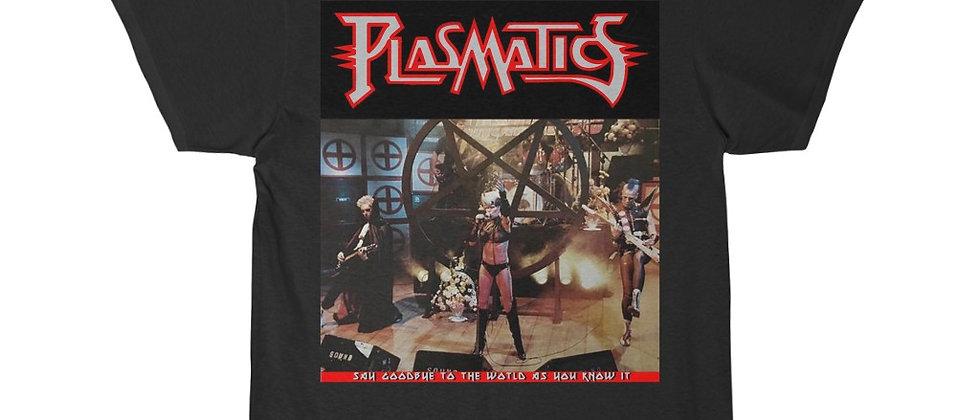 PLASMATICS Live SCTV 1983 2 Sided special Men's Short Sleeve T Shirt