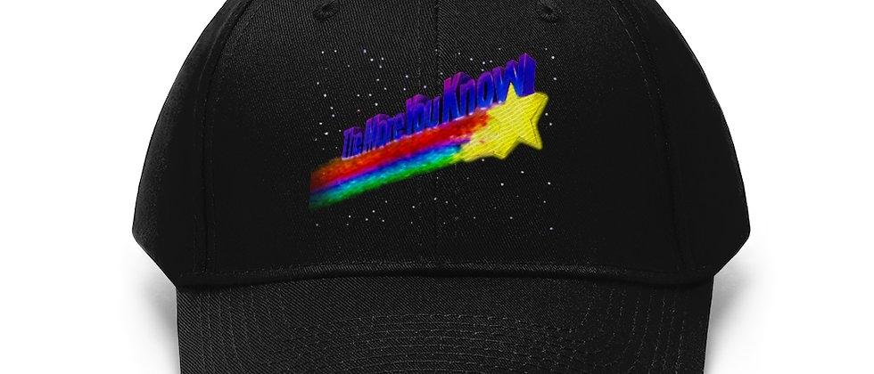 The More You Know retro 80's NBC clip Unisex Twill Hat