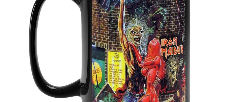 Iron Maiden Eddie and his robot babe Black Mug 15oz