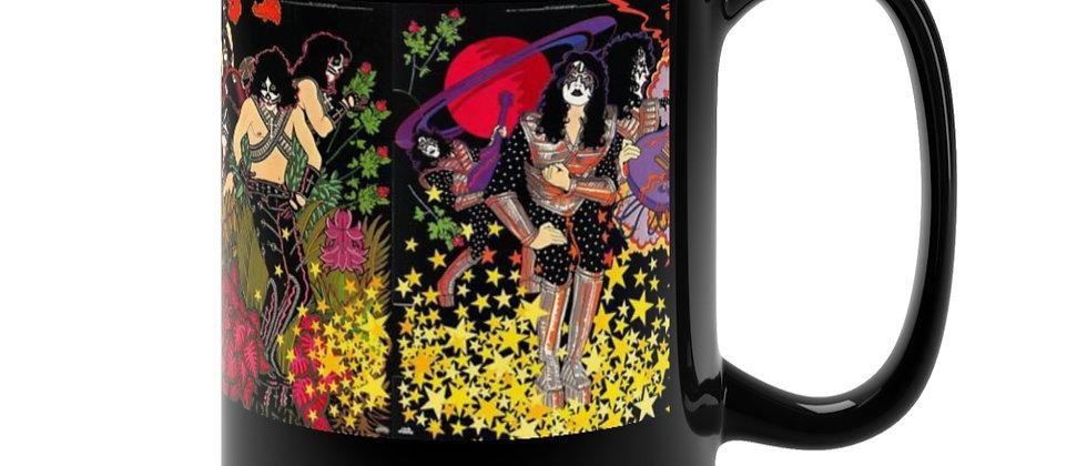KISS Solo Posters Complete Black Mug 15oz
