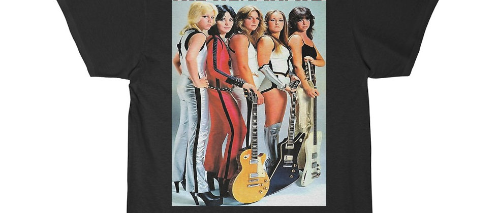 The Runaways Joan Jett Lita Ford Cheri Currie Men's Short Sleeve Tee