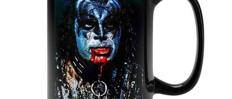 KISS Gene ALIVE 2 Black Mug 15oz