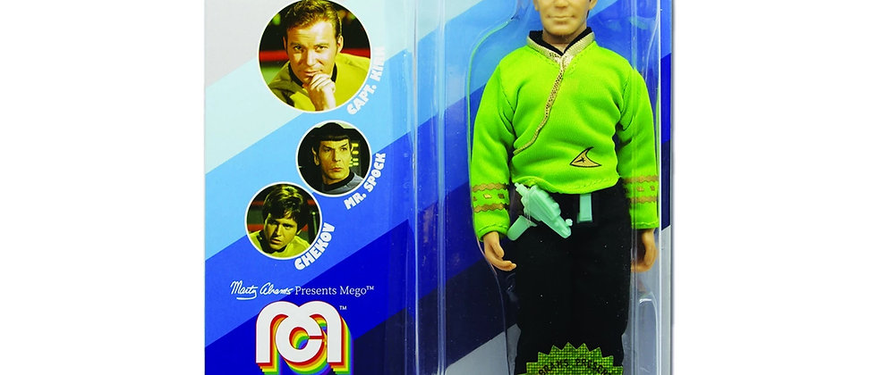 "MEGO Star Trek Capt Kirk 8"" Action Figure"