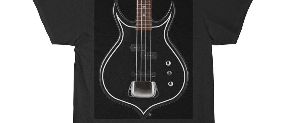 KISS Gene Simmons Punisher Bass Guitar Short Sleeve Tee T Shirt