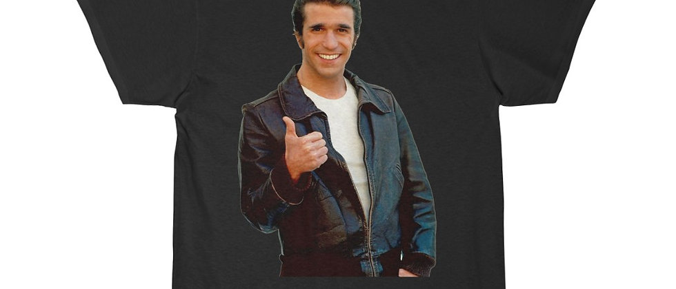 FONZIE From Happy Days Short Sleeve Tee