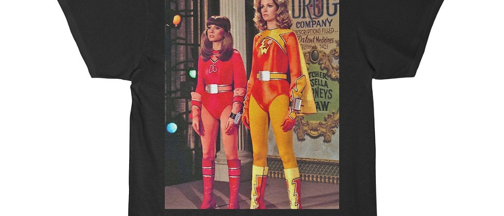 Electra Woman And Dyna Girl Short Sleeve Tee