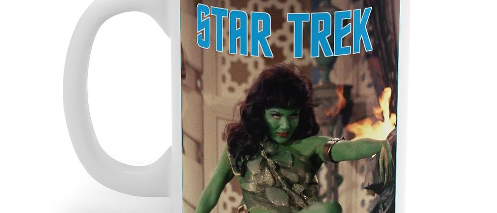 STAR TREK Veena Slave Girl Mug 11oz