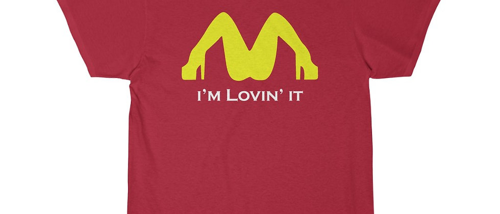 I'm Lovin it 1wht  Short Sleeve Tee