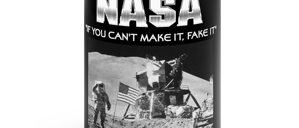 NASA If you can't make it fake it mug 11oz