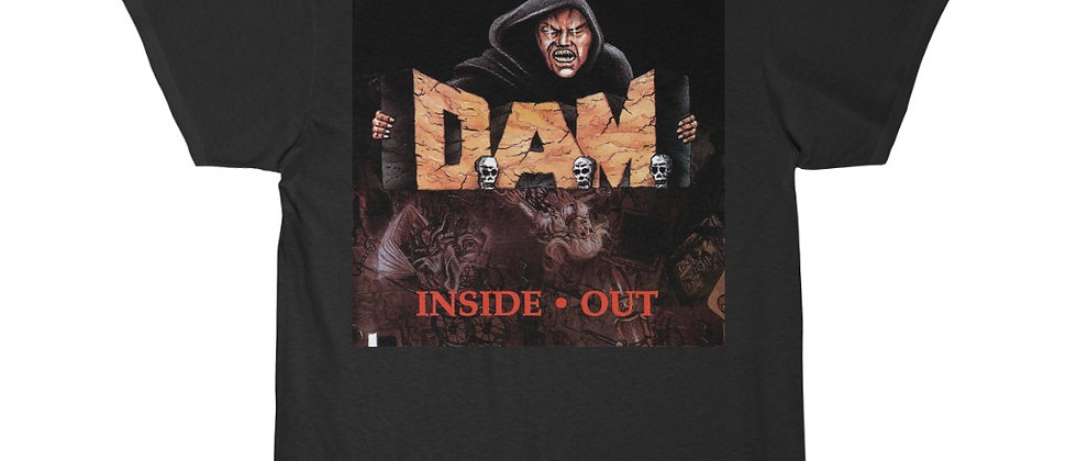 D.A.M. Inside Out cover Special 2 sided Short Sleeve Tee